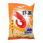 *四洲卡乐B虾条烧烤味80g