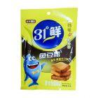 盐津铺子鱼豆腐烧烤味85g