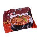 *康师傅酸辣牛肉包装111g